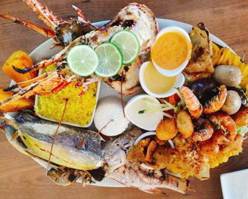 Restaurant CHEZ NOUS GUADELOUPE Pointe Des Châteaux 971_6